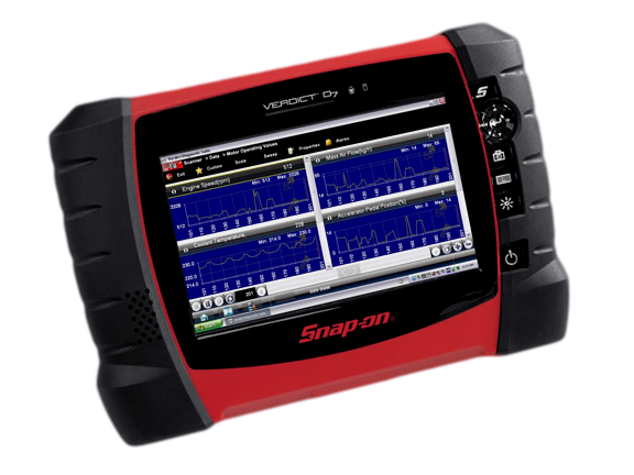Snap-on diagnostic scanner