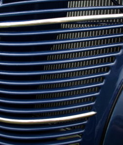 Ford grille and radiator